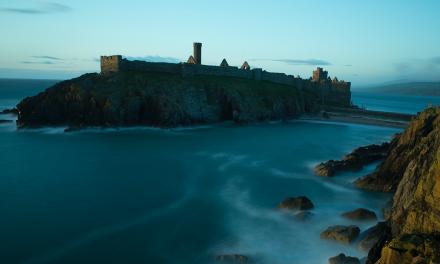 Do a lap of Peel Castle